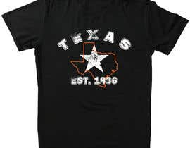 #95 for Texas t-shirt design contest by khalilBD2018