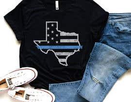 Nro 317 kilpailuun Texas t-shirt design contest käyttäjältä color78