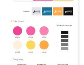 drevchuk94 tarafından Logo with single page brand style guide (usage, color palette and typography) için no 50