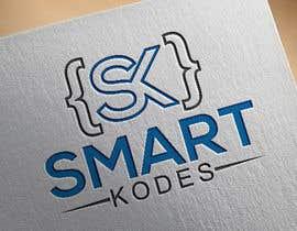 Nro 35 kilpailuun Design a logo for SmartKodes software services company, using hint from attached files. käyttäjältä imamhossainm017