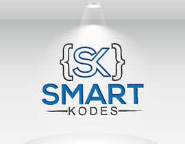 Nro 36 kilpailuun Design a logo for SmartKodes software services company, using hint from attached files. käyttäjältä imamhossainm017