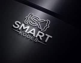 Nro 37 kilpailuun Design a logo for SmartKodes software services company, using hint from attached files. käyttäjältä imamhossainm017