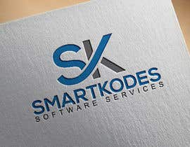 Nro 32 kilpailuun Design a logo for SmartKodes software services company, using hint from attached files. käyttäjältä aktherafsana513