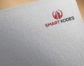 Nro 50 kilpailuun Design a logo for SmartKodes software services company, using hint from attached files. käyttäjältä Sritykh678
