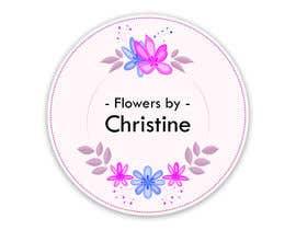 #83 dla Logo Design - Flowers by Christine przez Sr111