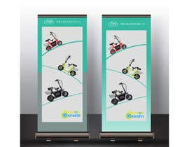 #29 for vertical banner for scooter by Tamim08