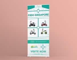 #66 for vertical banner for scooter by mdiqbalhasan250