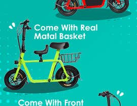 #70 for vertical banner for scooter by NazarAliDG