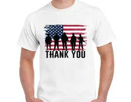#104 for Design several t-shirts for a patriotic t-shirt company by mno59acff3a7f8c0