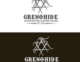 #56 untuk Vintage style logo for Leather craft hobby oleh gsamsuns045