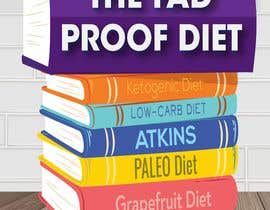 #72 for The Fad Proof Diet Book Covers by hristina1605