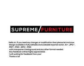 #156 for Create Logo - Supreme Furniture by Arfanmahedi