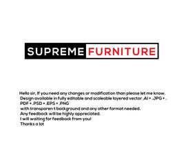 #157 for Create Logo - Supreme Furniture by Arfanmahedi
