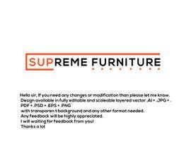 #158 for Create Logo - Supreme Furniture by Arfanmahedi
