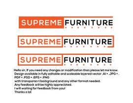 #160 for Create Logo - Supreme Furniture by Arfanmahedi