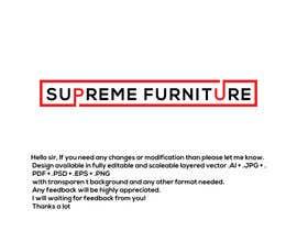 #166 for Create Logo - Supreme Furniture by Arfanmahedi
