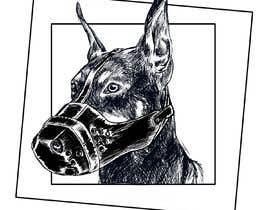 sadeceimge tarafından Draw a Dobermann Pinscher with a Muzzle için no 6