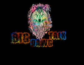 #40 для I need a colorful clean graphic of a dog face similar to the attached for T-shirt. Underneath graphic should read BigDawgTalk от arafath102525