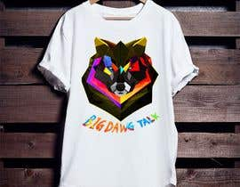 nº 47 pour I need a colorful clean graphic of a dog face similar to the attached for T-shirt. Underneath graphic should read BigDawgTalk par arafath102525