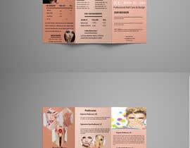 nº 8 pour Need a TriFold Brochure design for Nail Salon par bobitamardi2019