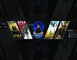 #43 for YOUTUBE GAMING CHANNEL ART by Raisulfahad