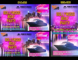 #45 for Designing Creatives for Bollywood Boat Cruise Party by fahimaziz2