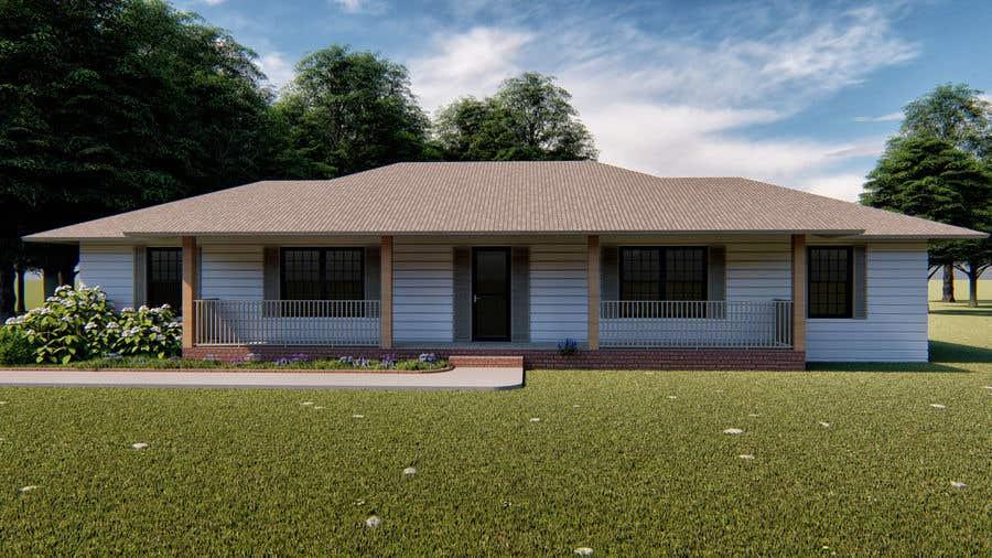 Penyertaan Peraduan #38 untuk House Front Design - Farmstyle