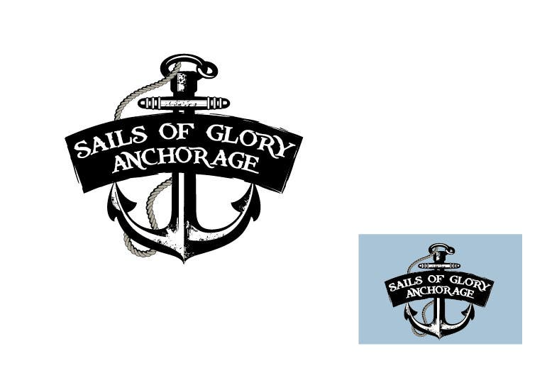 #4 for Sails of Glory Anchorage logo by marijoing
