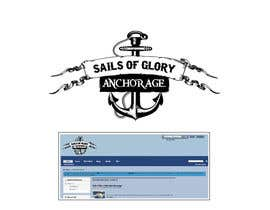 #6 for Sails of Glory Anchorage logo af marijoing