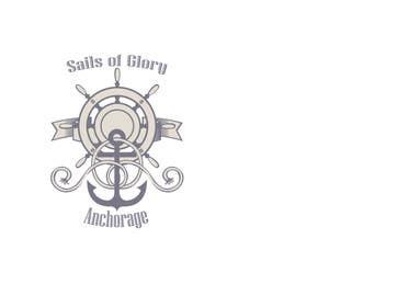 #19 para Sails of Glory Anchorage logo de natashaho