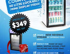 nº 10 pour Flyer Design for Counter Top Display Fridge par creationz2011