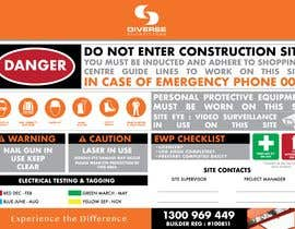 #13 untuk Construction Site Safety Sign oleh alexrodel