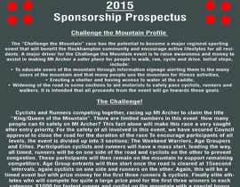 """#1 for Design a Brochure for """"Challenge the Mountain"""" by mmdesign25"""