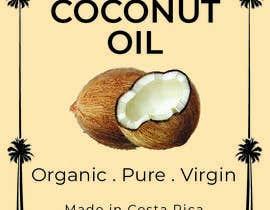 #46 untuk Coconut oil logo oleh Ashik0682