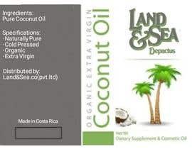 #28 untuk Coconut oil logo oleh ibrahimiftikhar0