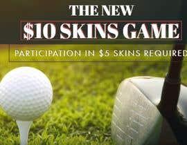 Nro 10 kilpailuun Promo graphic (golf) käyttäjältä Nevenacarica