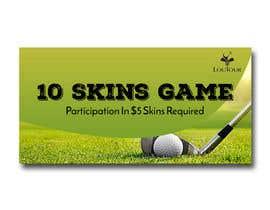 Nro 5 kilpailuun Promo graphic (golf) käyttäjältä irfananis07