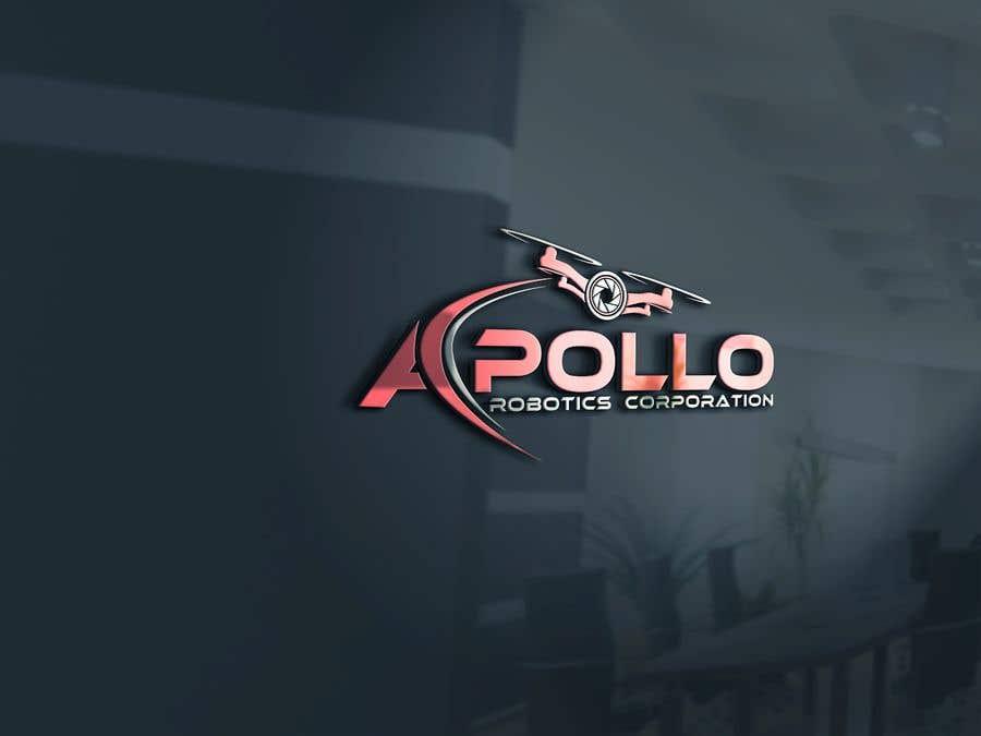 Penyertaan Peraduan #388 untuk New Logo for Apollo Robotics