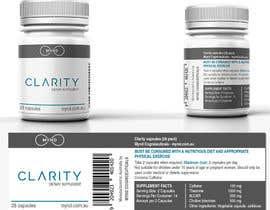 Nro 39 kilpailuun Label design for pharmaceutical bottle käyttäjältä crossartdesign
