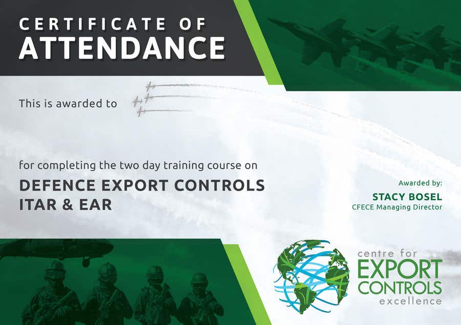 Contest Entry #16 for Certificate of Attendance Template