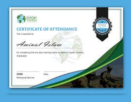 #30 for Certificate of Attendance Template by Aminul02