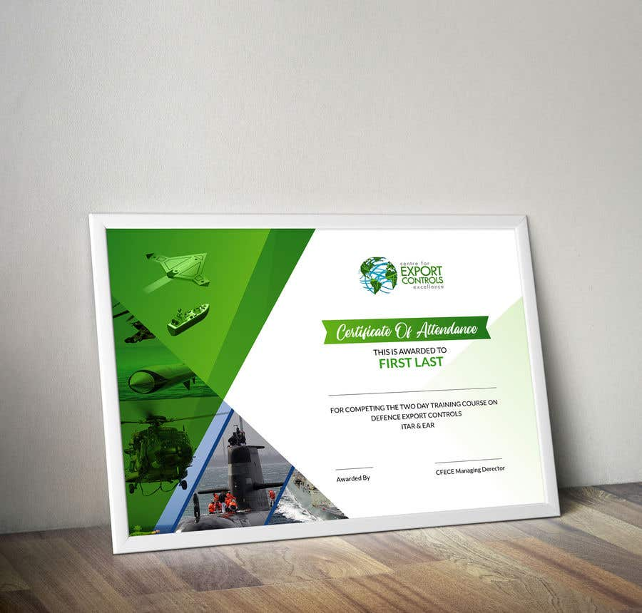 Contest Entry #21 for Certificate of Attendance Template