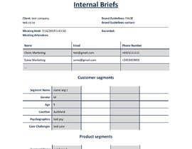 #23 для Create a modern looking design for internal Document от JanJosel