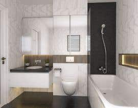 #22 for 3D model + interior design for bathrooms and bedrooms af fridaanantya