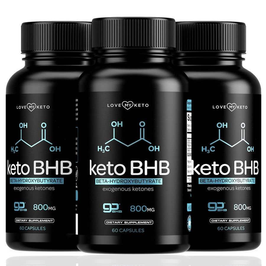 """Konkurrenceindlæg #19 for create product images for my keto supplement website """"1 bottle"""" """"3 bottles"""" """"4 bottles"""""""