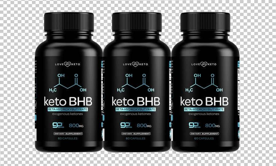 """Konkurrenceindlæg #16 for create product images for my keto supplement website """"1 bottle"""" """"3 bottles"""" """"4 bottles"""""""