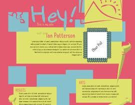 #4 para Graphic Design for Author Page por HansikaSenesh