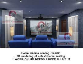 #11 untuk Photo Realistic 3D Rendering of Home Cinema oleh rashid78614
