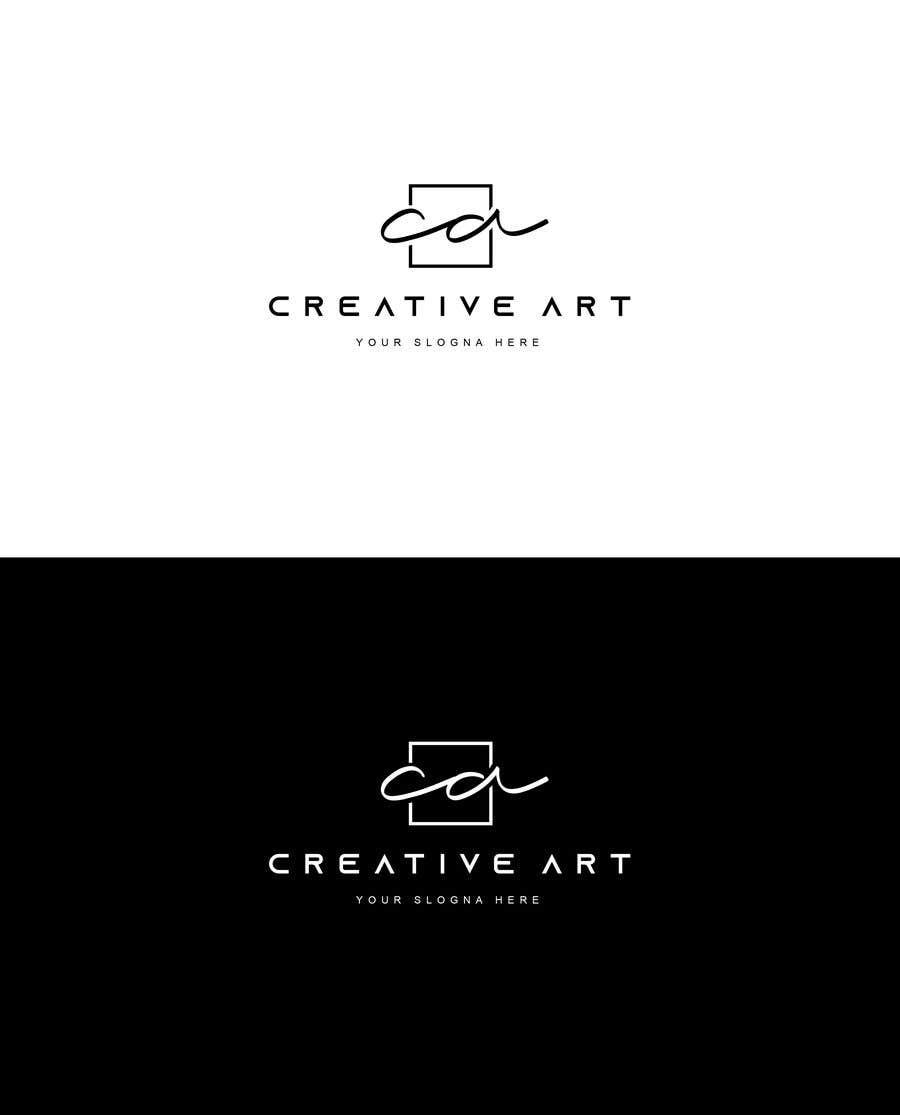 Penyertaan Peraduan #8 untuk Logo for Creative Art
