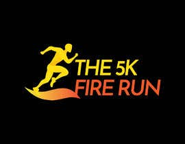 "#8 for Need a fake logo for the ""The 5K Fire Run"" where people race on hot coals and fire in their bare feet by MeBidisha"